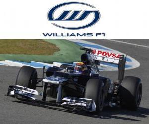 Puzzle de Williams FW34 - 2012 -
