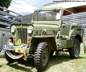 Puzzle de Willys MB