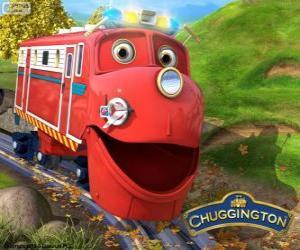 Puzzle de Wilson, la locomotora protagonista de Chuggington