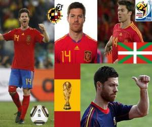 Puzzle de Xabi Alonso (El pulmón) mediocampista Selección Española
