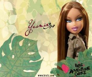Puzzle de Yasmin: - Pretty Princess - es una bonita española. Su segundo nombre es Lea, es la calma y la paciencia.