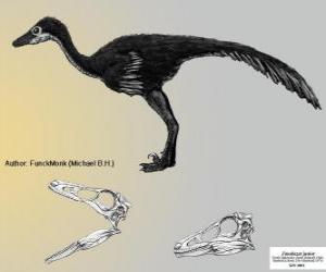Puzzle de Zanabazar es uno de los más grandes trodóntidos conocidos, con un cráneo de 272 milímetros