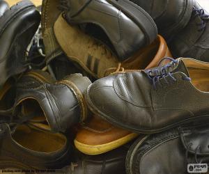 Puzzle de Zapatos de hombre
