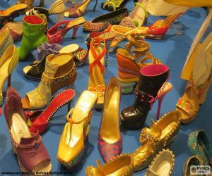 Puzzle de Zapatos de mujer