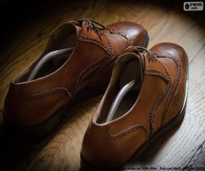 Puzzle de Zapatos de vestir de hombre