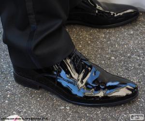 Puzzle de Zapatos novio