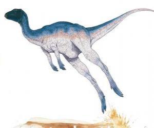 Puzzle de Zephyrosaurus fue un corredor bípedo de solo 1,8 metros de longitud pesando 50 kg