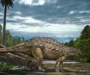 Puzzle de Zhejiangosaurus vivió hace aproximadamene 100 y 94 millones de años