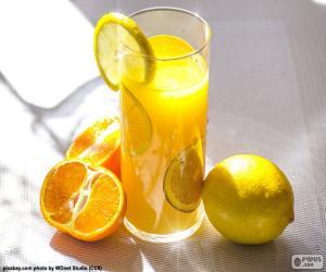 Puzzle de Zumo de naranja y limón