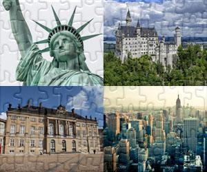 Puzzles de Casas, Ciudades y Monumentos