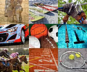 Puzzles de Deportes y Aventura