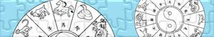 Puzzles de Zodiaco chino - Horóscopo chino