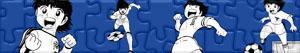 Puzzles de Oliver y Benji - Captain Tsubasa