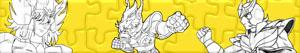Puzzles de Saint Seiya - Los caballeros del Zodiaco