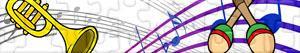 Puzzles de Instrumentos musicales