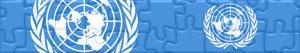 Puzzles de Banderas y Logos de las Naciones Unidas - ONU