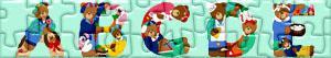 Puzzles de Letras con osos