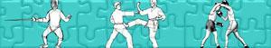 Puzzles de Deportes de Lucha