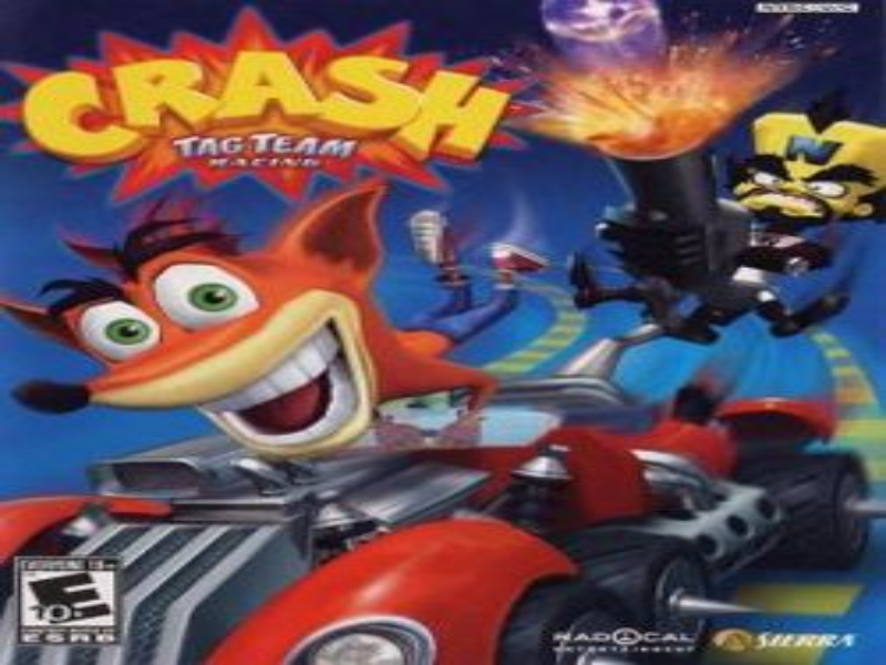 Crash tag team racing puzzle