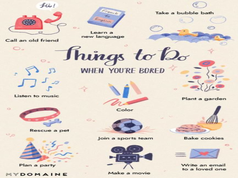 Things to do puzzle