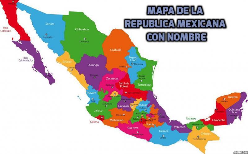Pasador Ubicación Mapa Gráficos Vectoriales Gratis En: Puzzle De Arma Tu Mapa De La República Mexicana