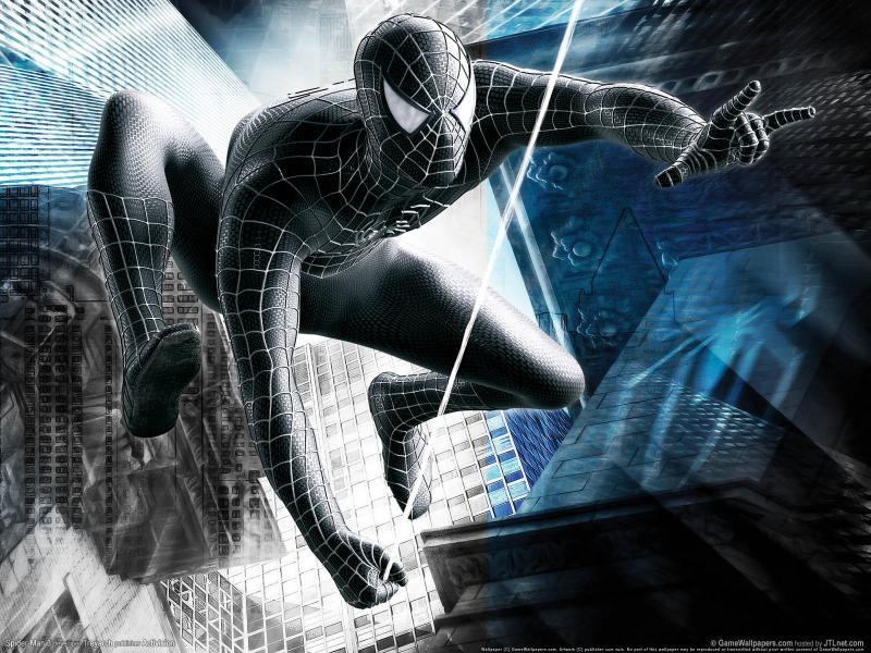Puzzle de el hombre araña negro , rompecabezas de