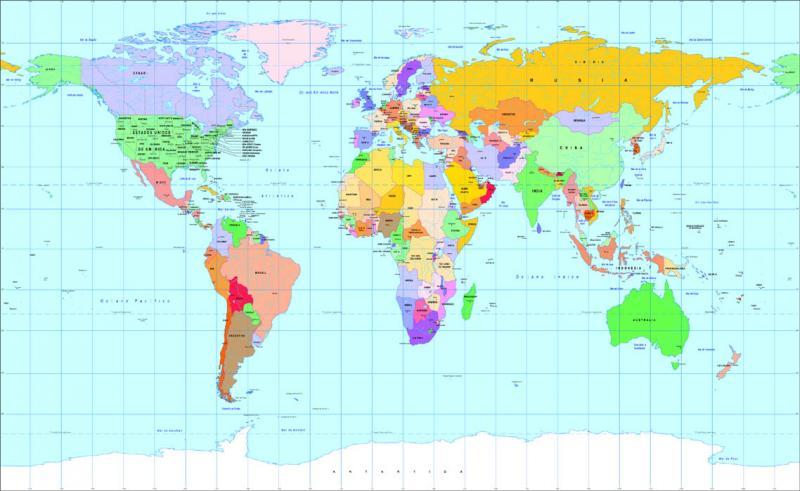 Puzzle de Mapa MUNDI   rompecabezas de