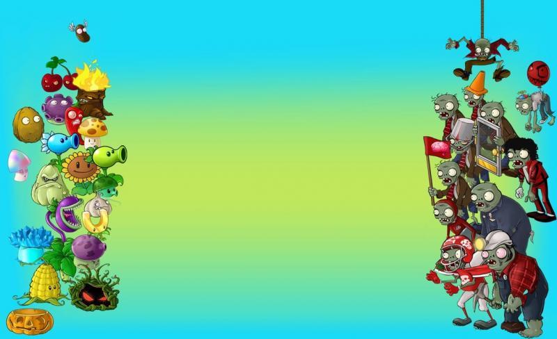 Puzzle de plantas vs zombies rompecabezas de for Como hacer la casa de plantas vs zombies en minecraft